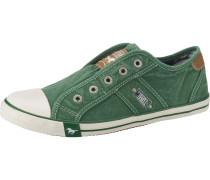 Sneakers braun / grün / weiß