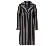 Mantel nachtblau / greige