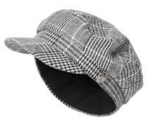 Bakerboy-Mütze schwarz / weiß