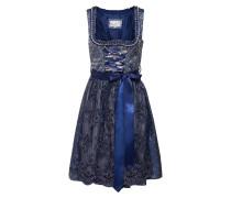 Kleid 'Fenza' blau / silber