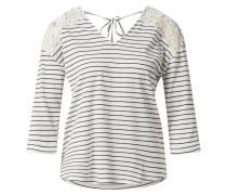 Shirt 'vmhela' blau / weiß