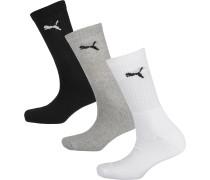 Socken schwarz / weiß / grau
