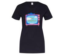 Shirt 'The ans Tee' schwarz