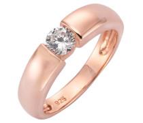 Silberring silber / rosegold