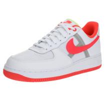 Sneaker 'air Force 1' rot / weiß