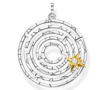 Kettenanhänger 'Labyrinth'