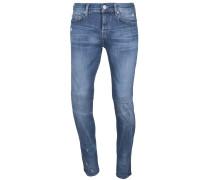 Jeans 'Rocco' taubenblau