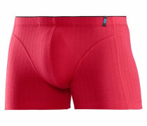 Boxer Shorts in Rippen-Optik rot