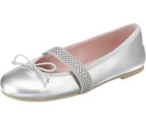 Klassische Ballerinas silber