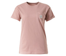 T-Shirt 'Todra' lila / rosa