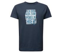 Shirt 'Pöbeln' navy