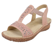 Sandale 'Hawaii' rosa / puder