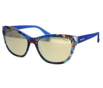 Sonnenbrille blau / mischfarben