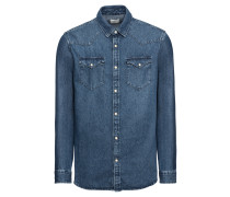 Jeanshemd 'slhslimned-Smith Shirt LS W Noos'