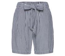 Shorts dunkelgrau / weiß