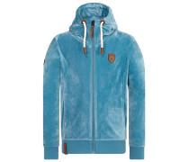 Male Zipped Jacket Birol Mack rauchblau