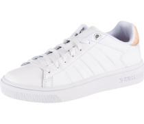 Sneaker 'Court Frasco' pfirsich / weiß