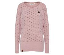 Langarmshirt rosa / schwarz