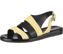Sandalen gelb / schwarz
