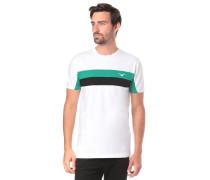 T-Shirt 'Faster' weiß
