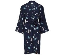 Print Kleid mit langen Ärmeln