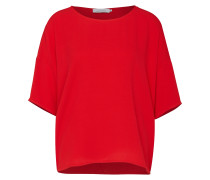 Bluse 'mains' feuerrot