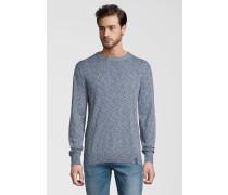 Pullover mit Farbverlauf blau