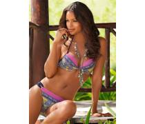 Push-up Bikini JJ Ranya gelb / lila / pink