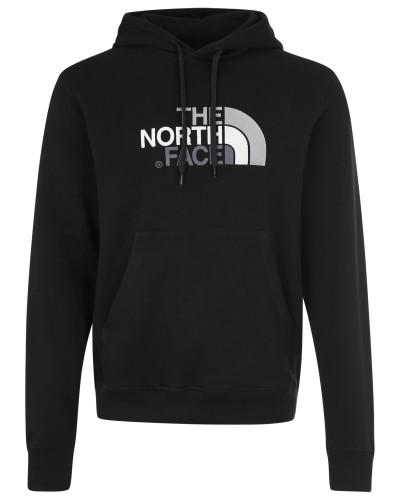 Sweater mit Label-Stickerei schwarz
