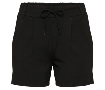 Stoff-Shorts 'Onlpoptrash' schwarz