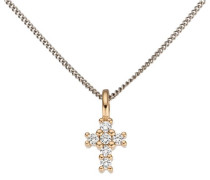 jewels Kreuzanhänger rosegold