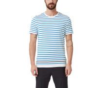 Jerseyshirt mit Streifen