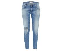 Mid Waist Jeans 'katewin' blue denim
