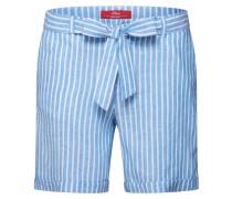 Shorts hellblau / weiß