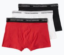 Pants rot / schwarz / weiß