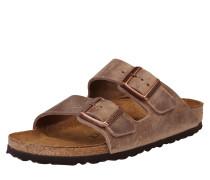 Sandale 'Arizona' Schmal braun