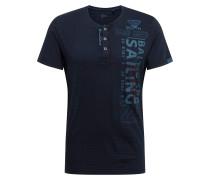Shirt hellblau / dunkelblau