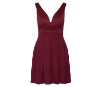 Kleid 'WG 7502' burgunder
