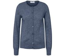 Strickjacke 'Premium-Kaschmir' blau