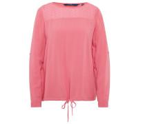Shirt / Blouse Bluse mit transparentem Einsatz