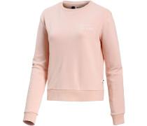'Going My Wave' Sweatshirt Damen rosa