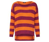 Pullover orange / magenta
