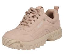 Sneaker nude / rosé