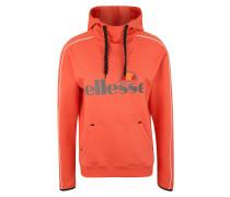 Sweatshirt 'sassari' grau / orange / rot