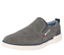 Halbschuhe grau / rot / weiß