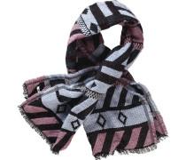 Schal rosa / schwarz / weiß