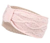 Stirnband mit Kaschmir rosa