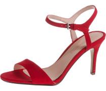 Klassische Sandaletten 'Valerie Nub' rot