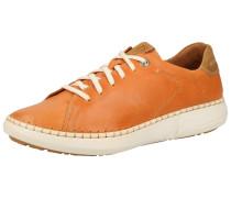 Sneaker orange / hellbraun