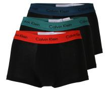Retro-Boxershorts schwarz